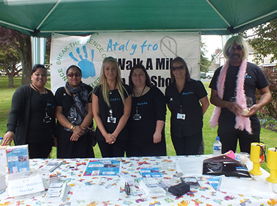 'Walk a Mile' Event @Bro Radio's Party in the Park