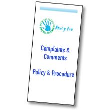 Atal y Fro complaints leaflet thumbnail